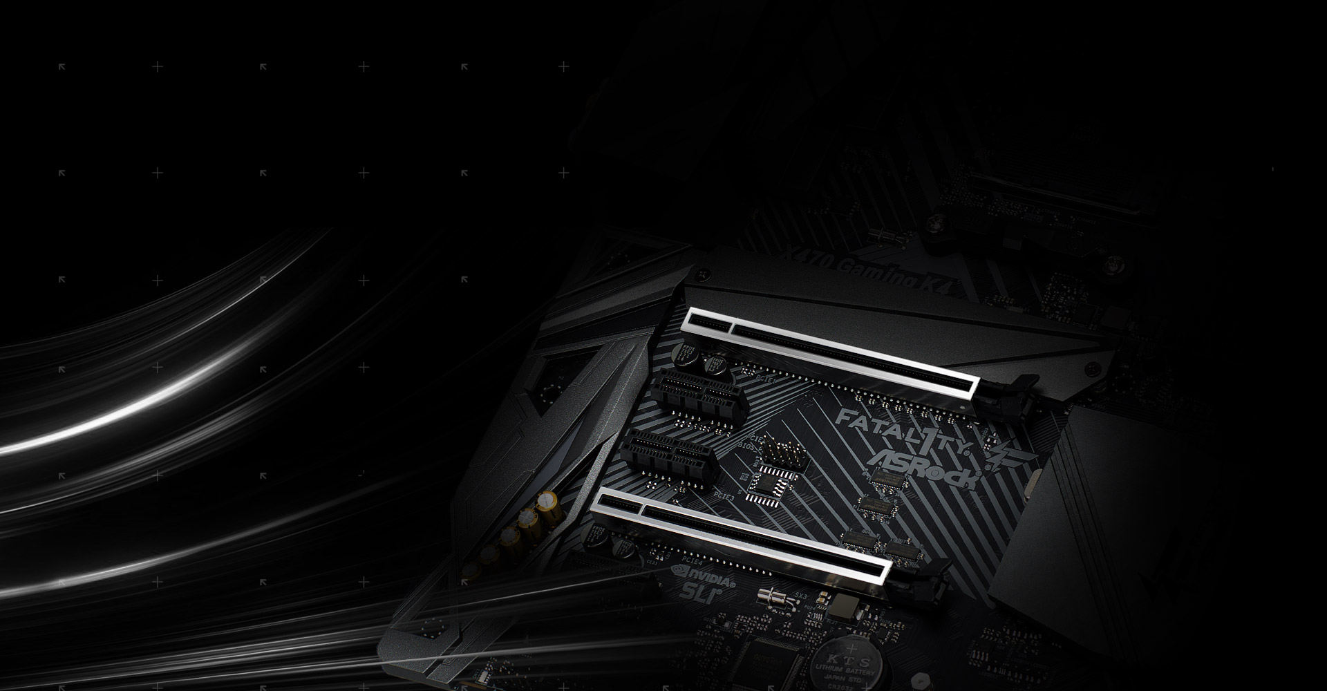 Asrock Fatal1ty X470 Gaming K4 Signal Stat 600 Wiring Diagram The Advanced Pci E Steel Slots Packed With Solid Cover That Prevent Any Interference Graphics Cards It Also Ensures Heavy To
