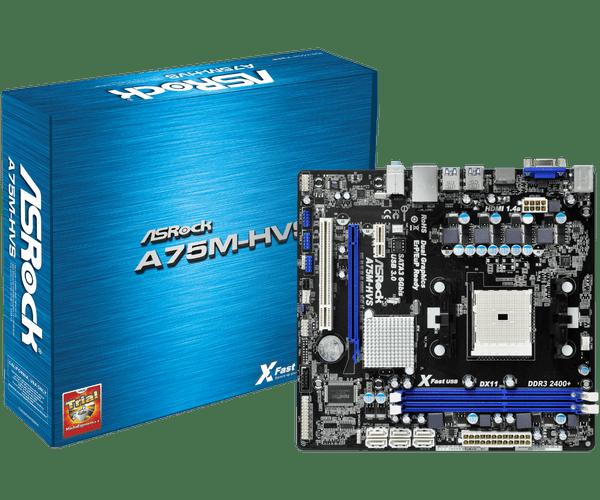 ASRock A75M-GE Windows 8 Driver Download