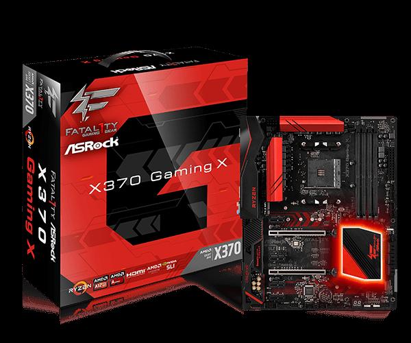 ASRock > Fatal1ty X370 Gaming X