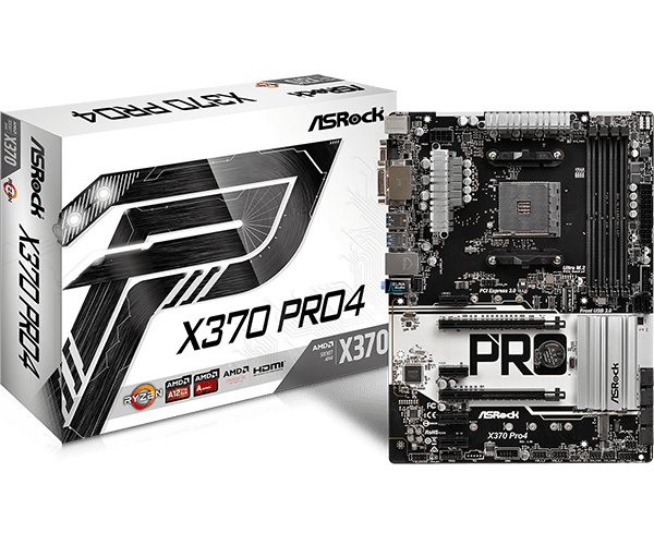 ASRock > X370 Pro4